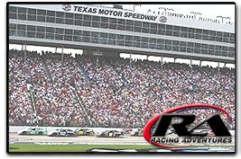 Racing Adventures Race Track Seating Information